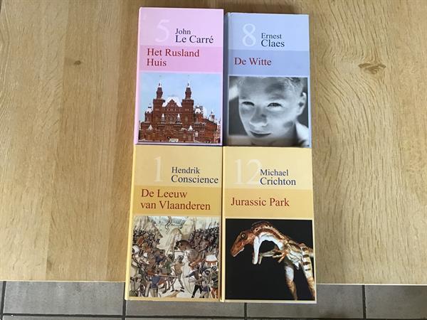Grote foto 4 prachtige boeken van rom. avont. triller enz... boeken romans