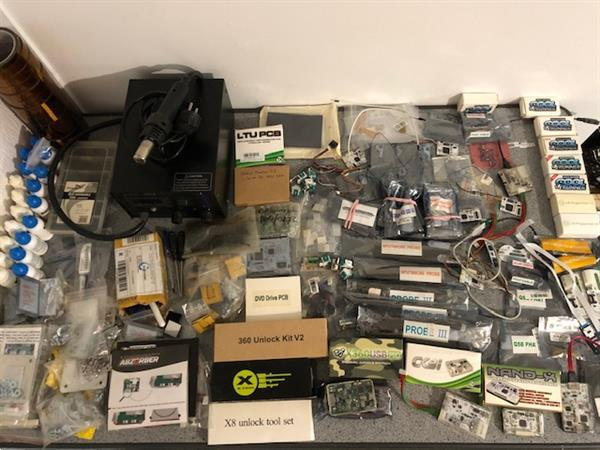 Grote foto xbox 360 consoles rgh jtag materiaal onderdelen spelcomputers games xbox 360