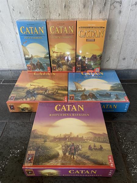 Grote foto catan pakket s r k b en zeevaarders 6 spellen hobby en vrije tijd gezelschapsspellen bordspellen