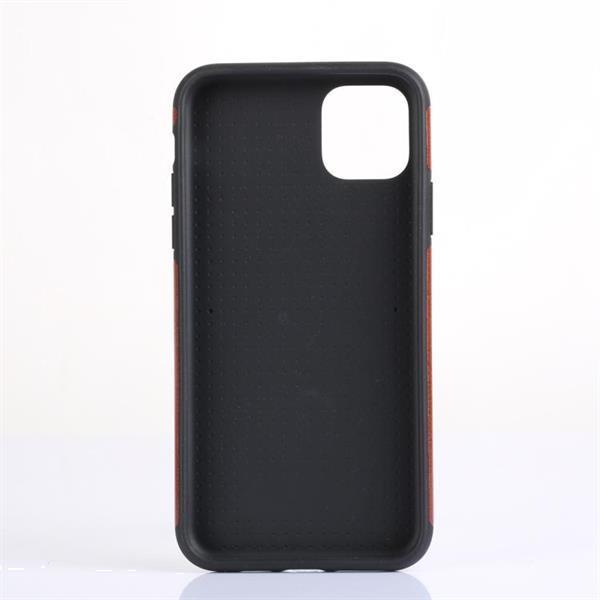 Grote foto carbon fibre tpu protective case for iphone 11 pro max black telecommunicatie mobieltjes
