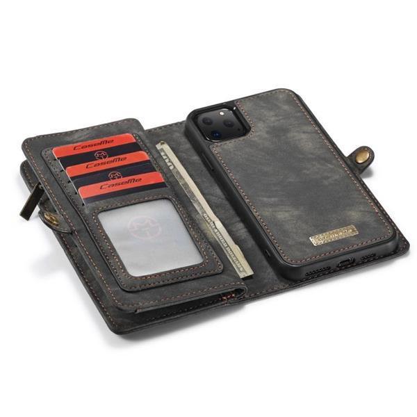Grote foto caseme 008 detachable multifunctional horizontal flip leathe telecommunicatie mobieltjes