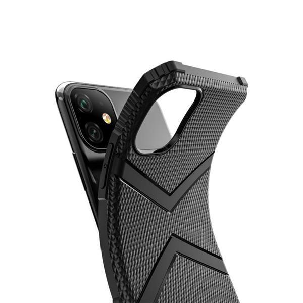 Grote foto diamond shield tpu drop protection case for iphone 11 blue telecommunicatie mobieltjes