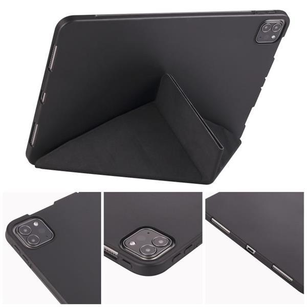 Grote foto for ipad pro 11 2020 multi folding horizontal flip pu leat telecommunicatie mobieltjes
