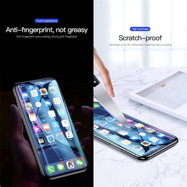 Grote foto for iphone 11 xr totudesign hd edgeless tempered glass fi telecommunicatie mobieltjes