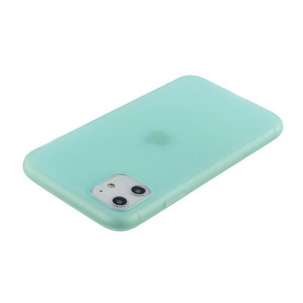 Grote foto for iphone 11 1.5mm liquid emulsion translucent tpu case min telecommunicatie mobieltjes