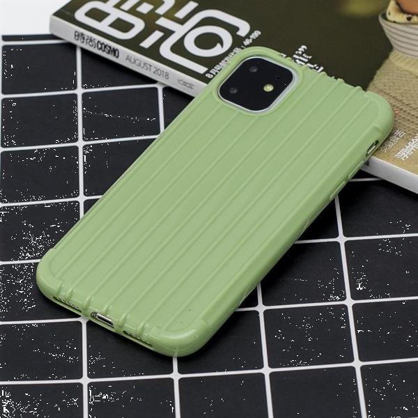 Grote foto for iphone 11 coloured suitcase striped mobile phone case gr telecommunicatie mobieltjes
