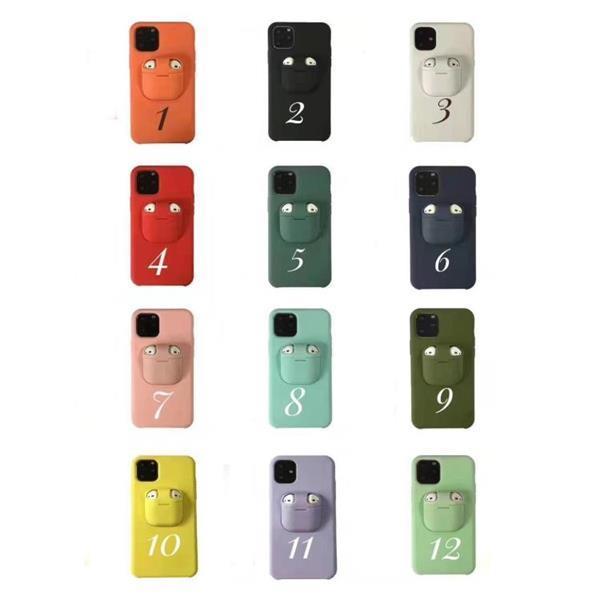 Grote foto for iphone 11 pro liquid silicone shockproof protective case telecommunicatie mobieltjes