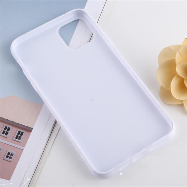 Grote foto for iphone 11 pro max candy color plastic protective case wh telecommunicatie mobieltjes