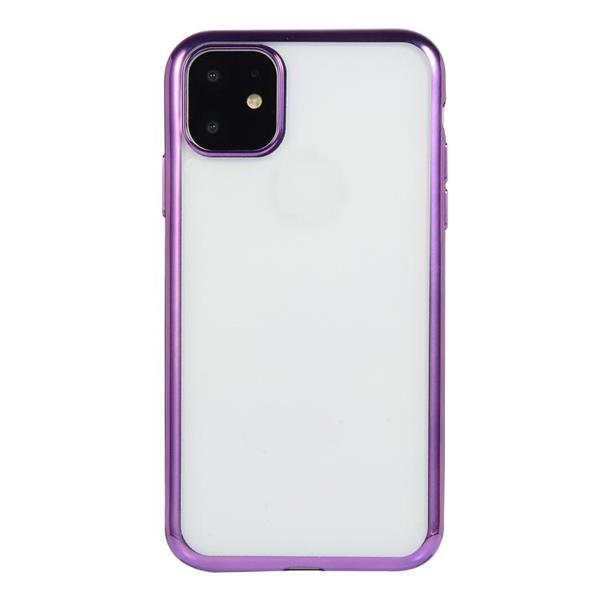 Grote foto for iphone 11 pro max electroplating tpu protective case pur telecommunicatie mobieltjes