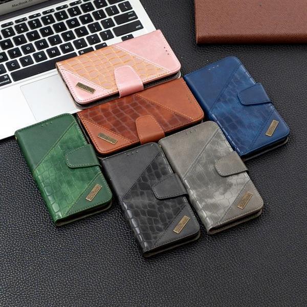 Grote foto for iphone 11 pro max matching color crocodile texture horiz telecommunicatie mobieltjes