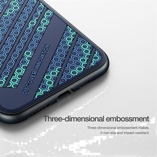 Grote foto for iphone 11 pro max nillkin 3d texture striker protective telecommunicatie mobieltjes