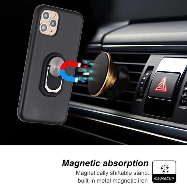 Grote foto for iphone 11 pro max pc tpu shockproof protective case wi telecommunicatie mobieltjes