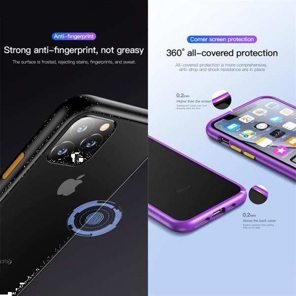 Grote foto for iphone 11 pro max totudesign gingle series shockproof tp telecommunicatie mobieltjes