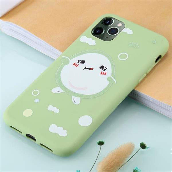 Grote foto for iphone 11 pro max tpu mobile phone case single avocado telecommunicatie mobieltjes
