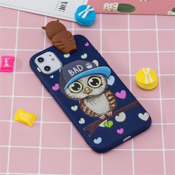 Grote foto for iphone 11 pro shockproof cartoon tpu protective case blu telecommunicatie mobieltjes