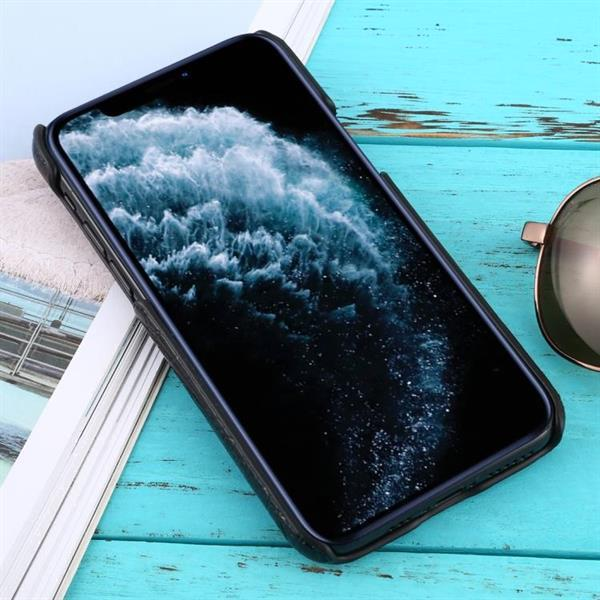 Grote foto for iphone 11 pro shockproof crocodile texture protective ca telecommunicatie mobieltjes