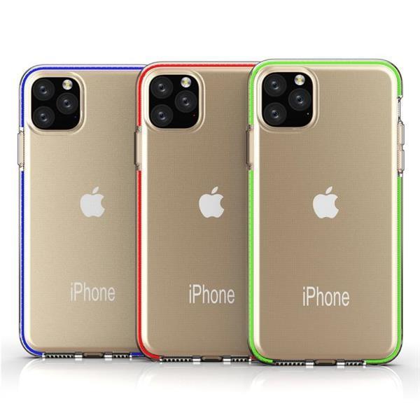 Grote foto for iphone 11 pro tpu two color drop proof protective case p telecommunicatie mobieltjes