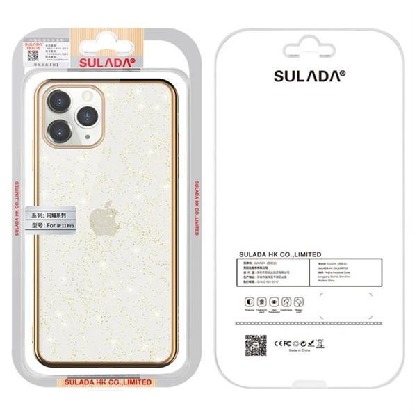 Grote foto for iphone 11 sulada drop proof tpu plating powder protecti telecommunicatie mobieltjes