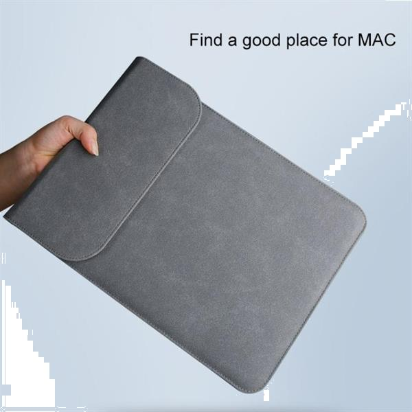 Grote foto 2 in 1 matte leather laptop inner bag power bag for macboo computers en software overige