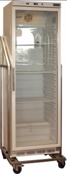 Grote foto rvs evenementen koelkast in frame 400l cd087 diversen overige diversen