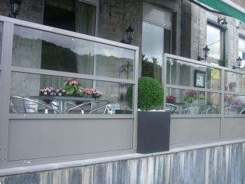 Grote foto terrasscherm rotterdam 197 2cm breed diversen overige diversen