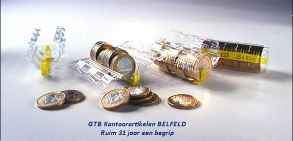 Grote foto munthulzen voor het handig opbergen van muntgeld. zakelijke goederen kassa en betaalsystemen