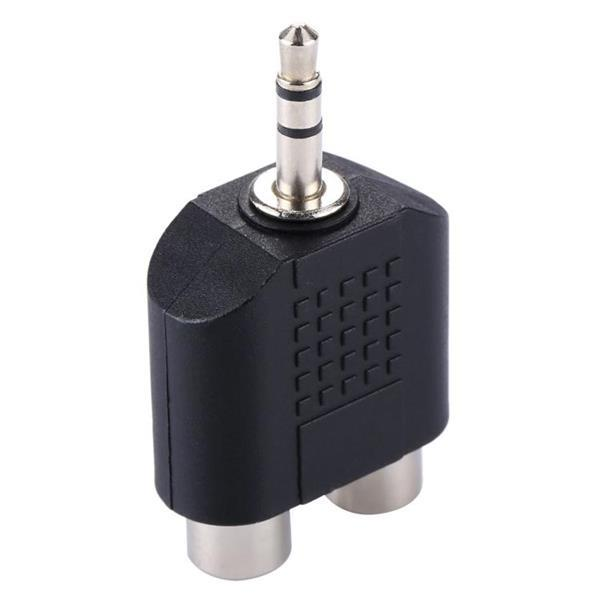 Grote foto rca female to 3.5 mm male jack audio y adapter computers en software overige