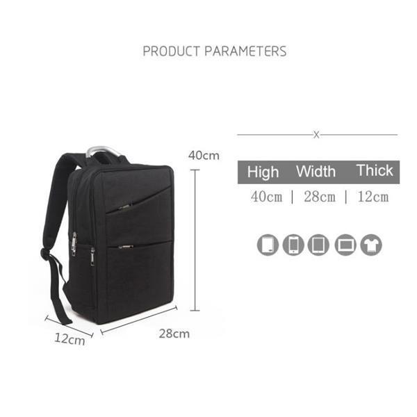 Grote foto universal multi function oxford cloth laptop computer should sieraden tassen en uiterlijk rugtassen