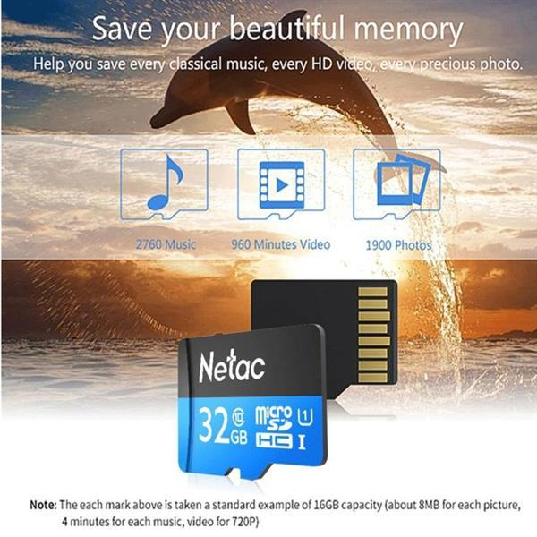 Grote foto netac p500 32gb class10 micro sd tf memory card audio tv en foto onderdelen en accessoires