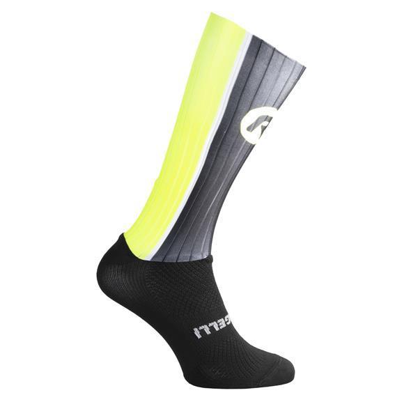 Grote foto aero sokken zwart fluor motoren overige accessoires