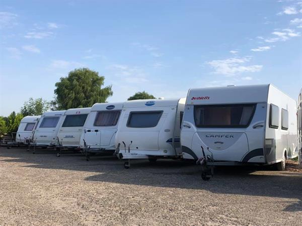 Grote foto andre reijm b.v. caravan camperstalling caravans en kamperen stalling