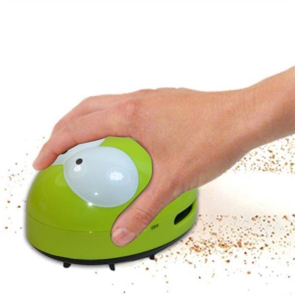 Grote foto portable cute mini beetle desktop keyboard cleaner blue witgoed en apparatuur stofzuigers
