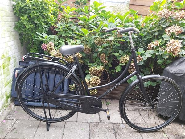 Grote foto mooie bsp omafiets fietsen en brommers omafietsen