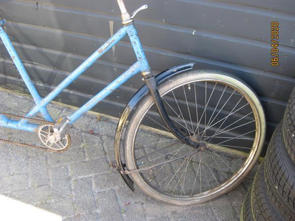 Grote foto simplex tandem fietsen en brommers oldtimers