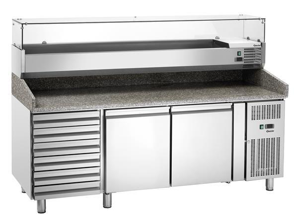 Grote foto bartscher pizza koelwerkbank gl26640 2 deurs 6 lades r diversen overige diversen