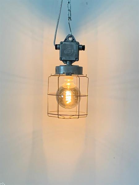Grote foto industri le mijn en explosie lamp antiek en kunst lampen