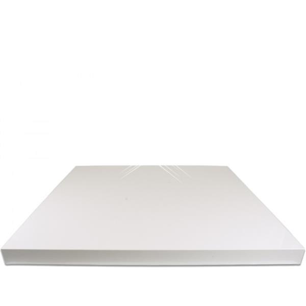 Grote foto witte polyethyleen werkblad 1600x700x25 mm diversen overige diversen