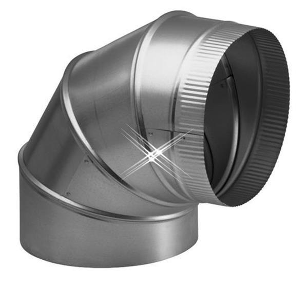 Grote foto aluminium bocht 90 graden 500 mm diversen overige diversen