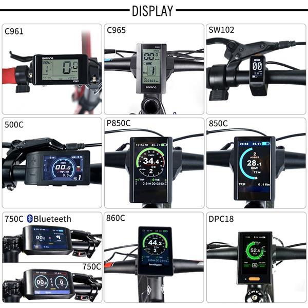 Grote foto bafang bbs02 48 v 350 w complete set incl batterij en l fietsen en brommers elektrische fietsen