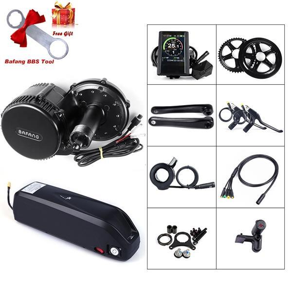 Grote foto bafang bbs02 48 v 500 w complete set incl batterij en l fietsen en brommers elektrische fietsen