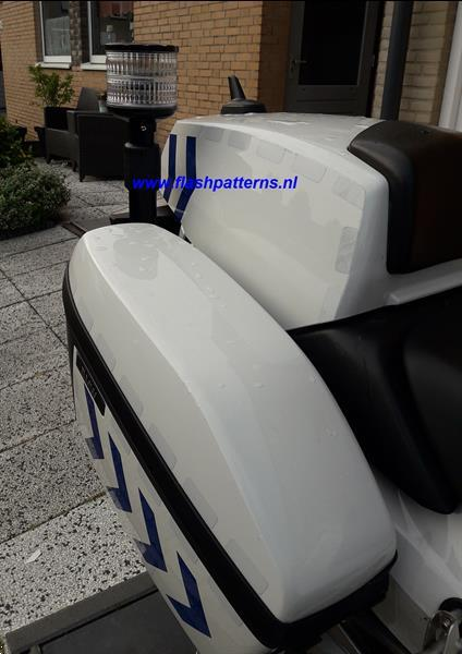 Grote foto mcx dl pro ecer65 ecer10 led motor zwaailamp 12 24v blauw of audio tv en foto onderdelen en accessoires