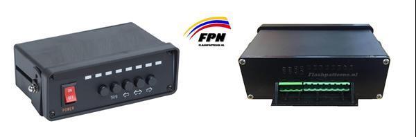 Grote foto flt3 8 traffic advisor incl bediening met led indicatie 4 ja auto onderdelen tuning en styling
