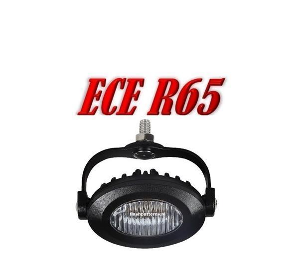Grote foto ov3 led flitser ecer65 12 24v motoren overige accessoires