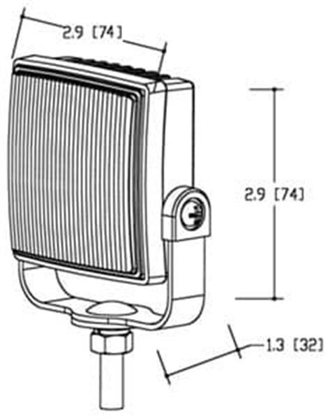 Grote foto st4 led flitser ecer65 r10 12 24v motoren overige accessoires