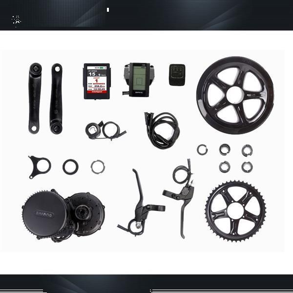 Grote foto bafang bbs01 350w 36v e bike ombouwset fietsen en brommers elektrische fietsen