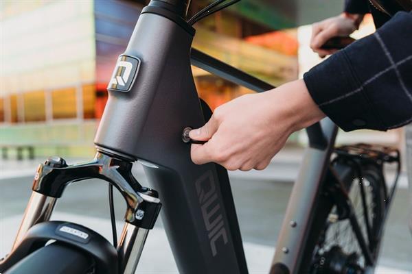 Grote foto qwic premium q mnauto belt heren fietsen en brommers elektrische fietsen