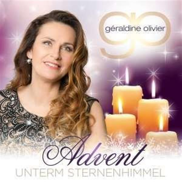 Grote foto g raldine olivier advent unterm sternenhimmel cd muziek en instrumenten cds minidisks cassettes