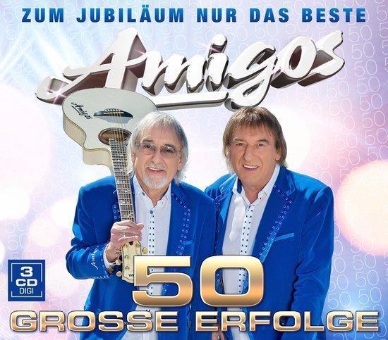 Grote foto amigos 50 grosse erfolge zum jubil um nur das beste 3cd muziek en instrumenten cds minidisks cassettes
