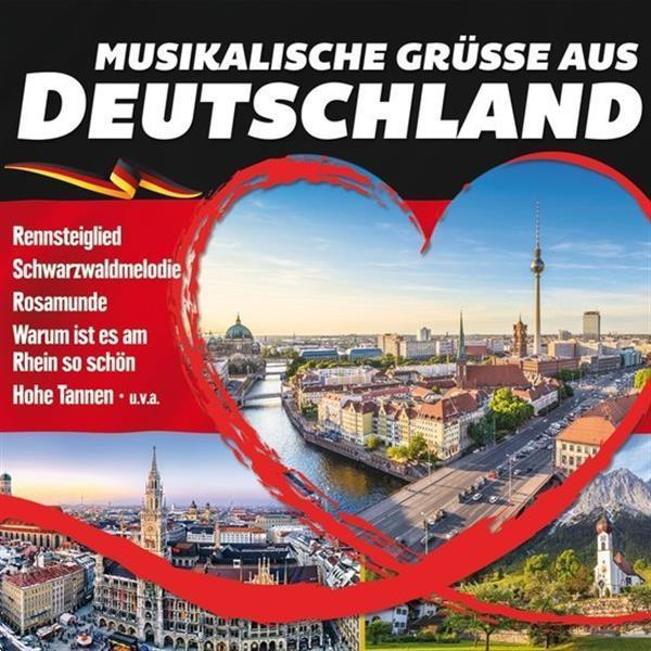 Grote foto divers musikalische gr sse aus deutschland cd muziek en instrumenten cds minidisks cassettes