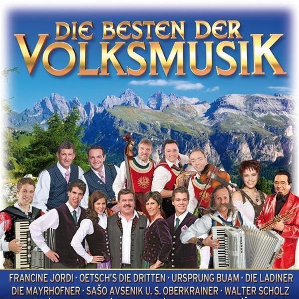 Grote foto divers die besten der volksmusik cd muziek en instrumenten cds minidisks cassettes